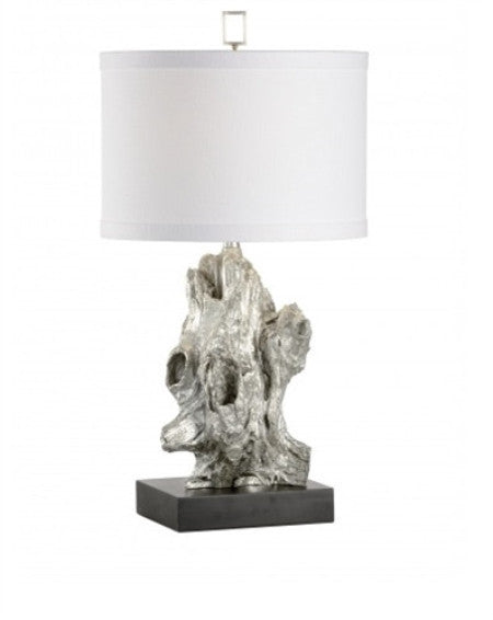 Bayou Table Lamp in Silver - GDH | The decorators department Store