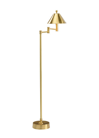 Ashbourne floor lamp gold