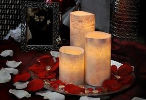 Flameless Candles-Set of 3 - GDH | The decorators department Store