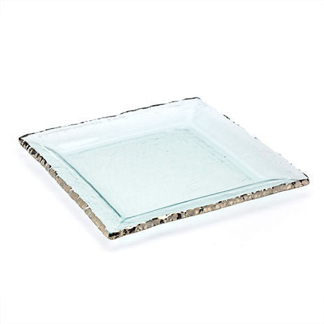 Annieglass Edgey Square Platter - GDH | The decorators department Store