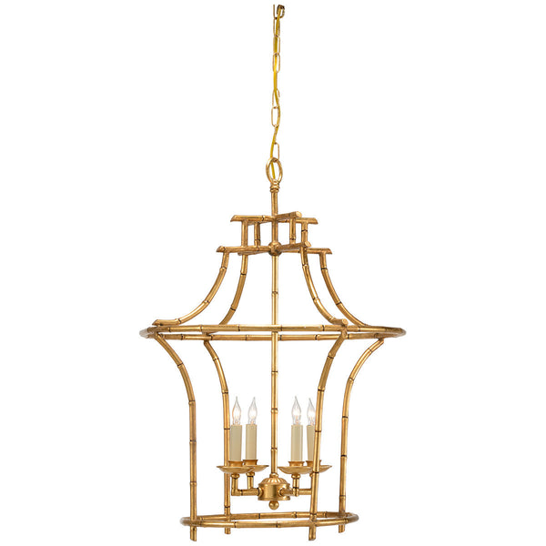 Bamboo Antique Gold Chandelier - GDH | The decorators department Store