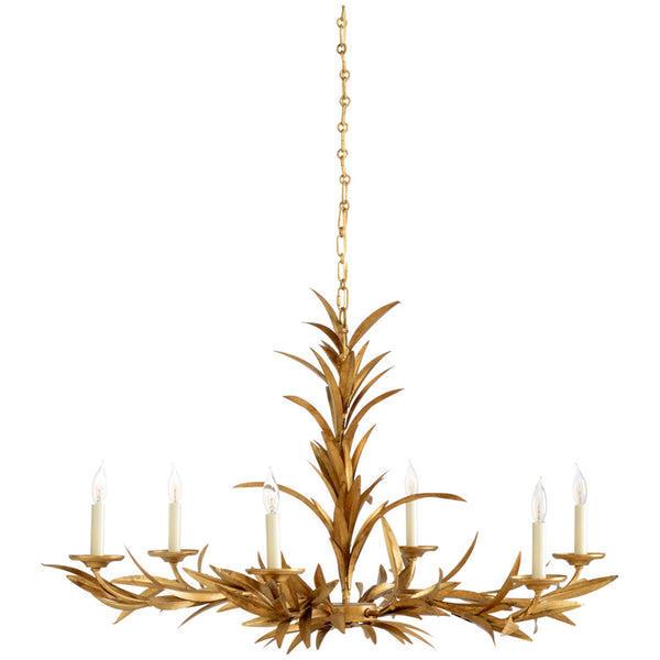 Chelsea House Laurel Sunburst Chandelier
