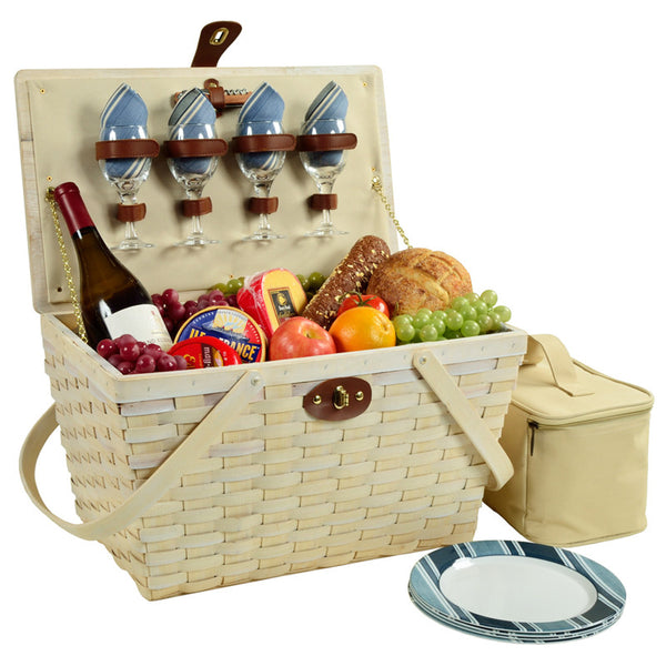 Settler's Picnic Basket for Four - GDH | The decorators department Store - 1