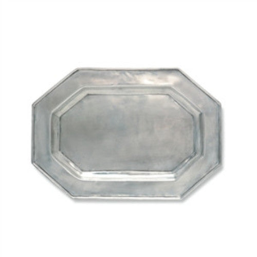 Match Pewter   Octagonal Platter - GDH | The decorators department Store