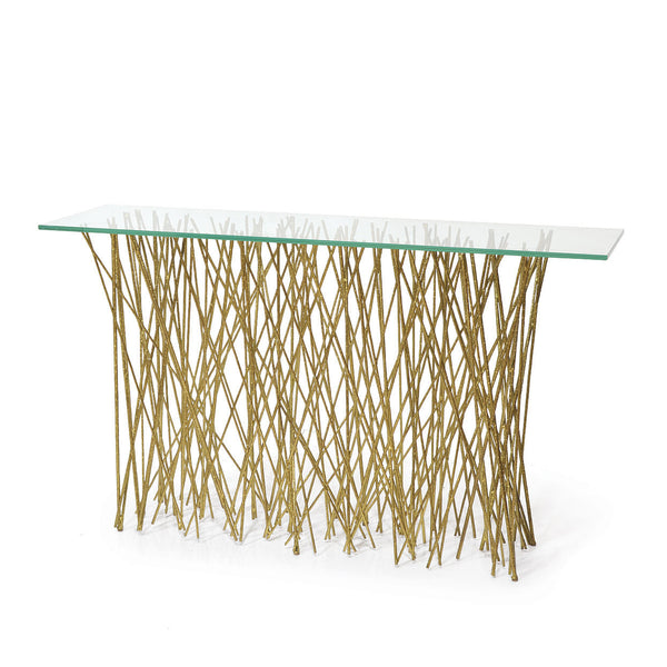Allison Metal Twig Console Table - summerhouse catalog
