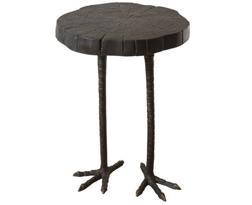 Global Views Ostrich Table - GDH | The decorators department Store