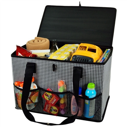 Collapsible Home and Trunk Organizer | Houndstooth - GDH | The decorators department Store