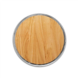 Match Pewter Round Cheese Board with Wood Insert - GDH | The decorators department Store