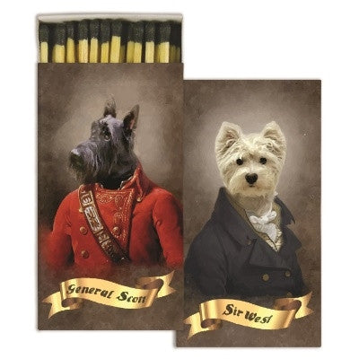 Matches - Regal Dogs -  Set of 7 - GDH | The decorators department Store