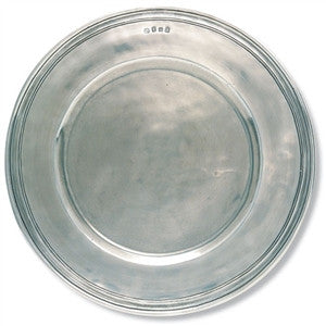 Match Pewter Scribed Rim Charger - GDH | The decorators department Store