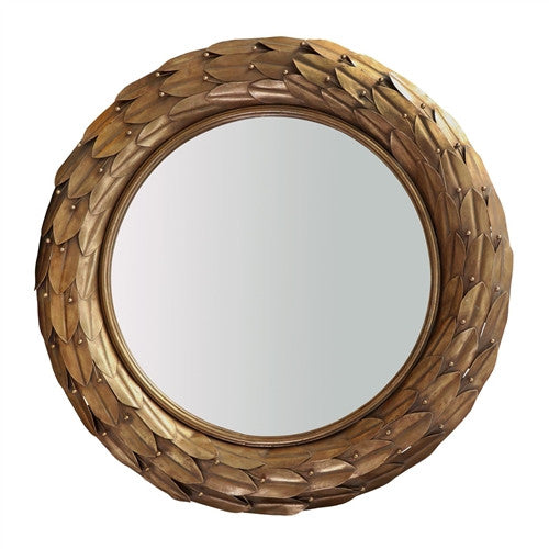 Athena Wall Mirror | Gold by Bungalow 5 - GDH | The decorators department Store