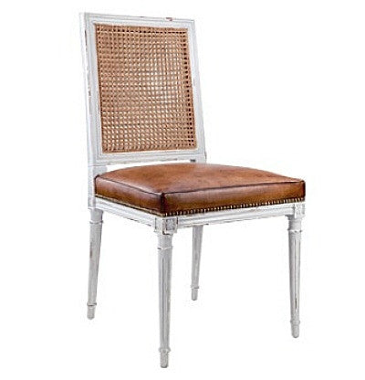 Augusta Dining Chair by Bungalow 5 | White - GDH | The decorators department Store
