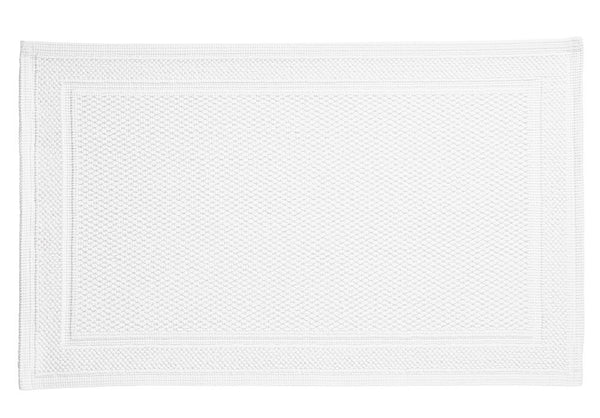 Athens Bath Rug | White