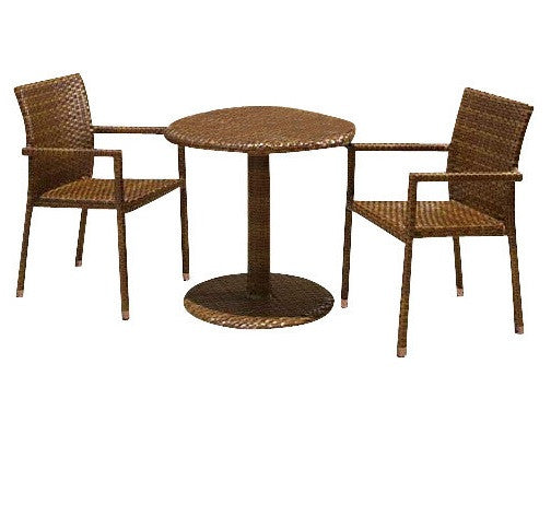Panama Jack 3 PC St Barths Bistro Arm Chair Set - GDH | The decorators department Store - 1