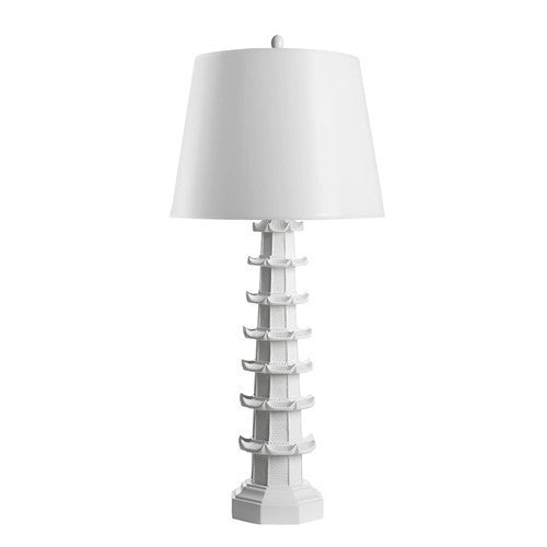 Brighton Lamp White by Bungalow 5 - GDH | The decorators department Store