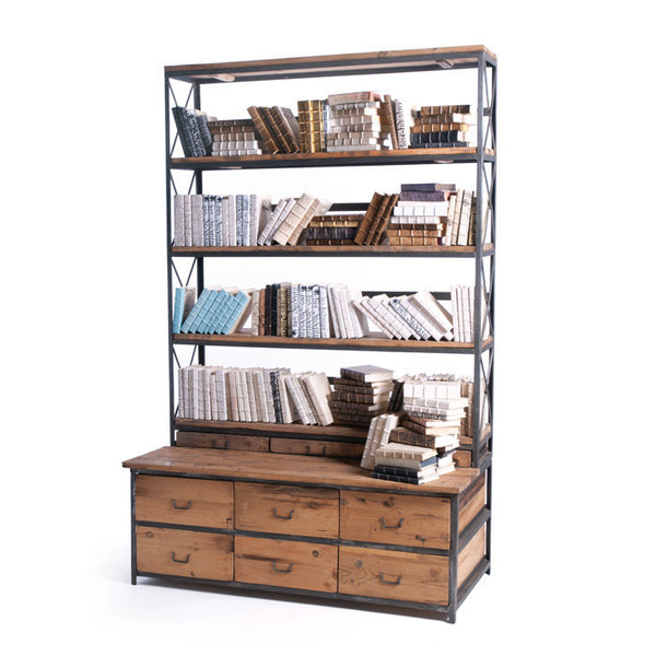 Baxter Bench Bookcase