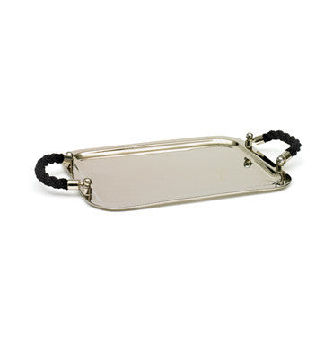 Black Rope Tray - GDH | The decorators department Store