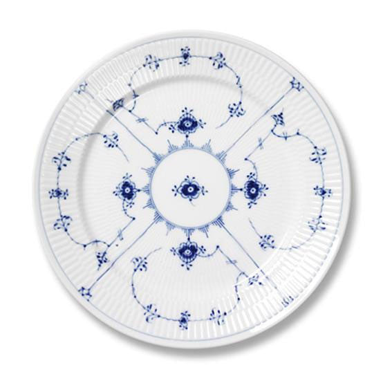 Royal Copenhagen Blue Fluted Plain | Dessert Plate