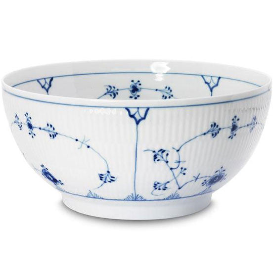 Royal Copenhagen Blue Fluted Plain | Large Salad Bowl
