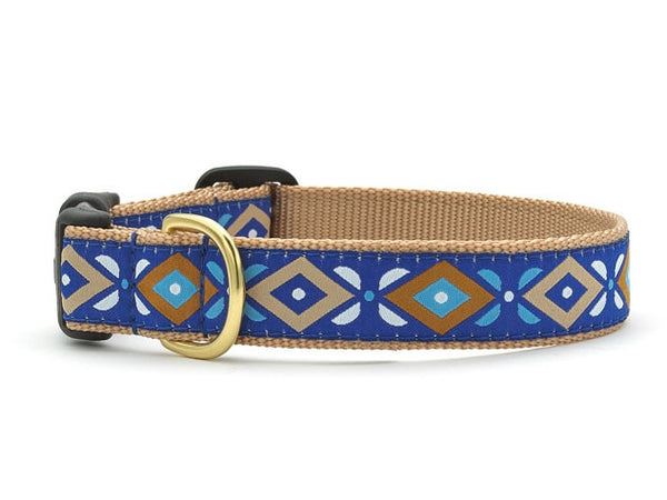 Aztec Blue Dog Collar - GDH | The decorators department Store