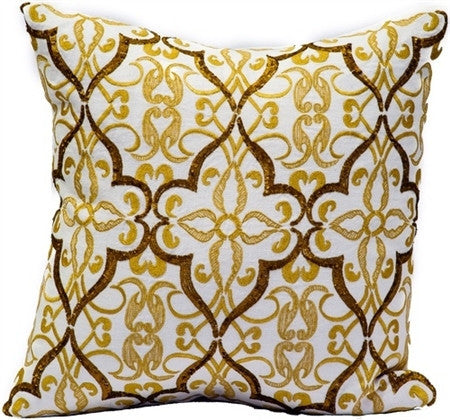 Gold  - Cream Linen/Gold Emb/Gold Sequins - GDH | The decorators department Store