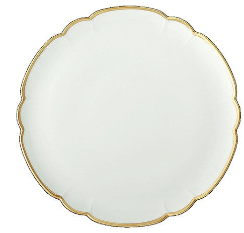 R Haviland Colette-Gold Cake Plate - GDH | The decorators department Store