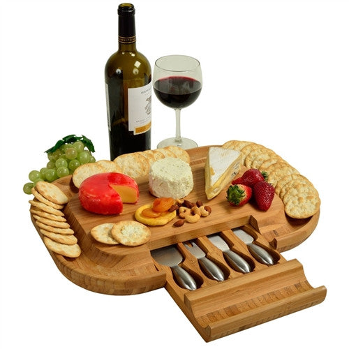 Deluxe Malvern Cheese Board Set - GDH | The decorators department Store