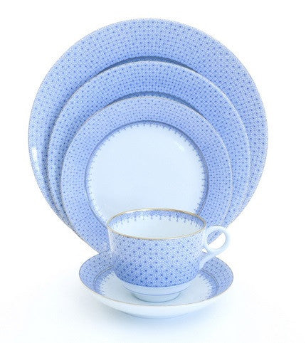 Mottahedeh Cornflower Blue Lace Dinnerware Collection - GDH | The decorators department Store - 1