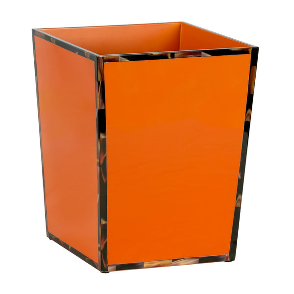 CHEVAL WASTE BIN, ORANGE - GDH | The decorators department Store