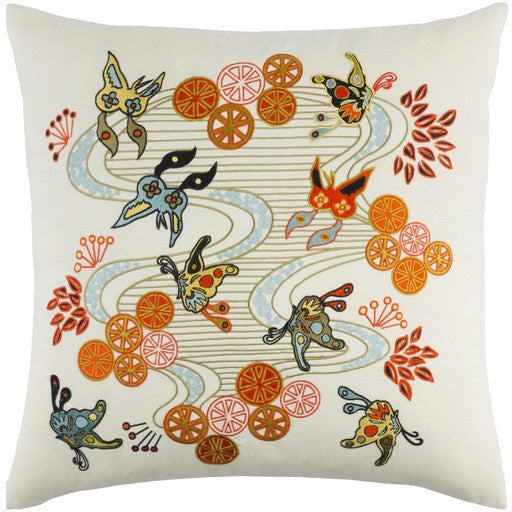 Chinese River Pillow - GDH | The decorators department Store