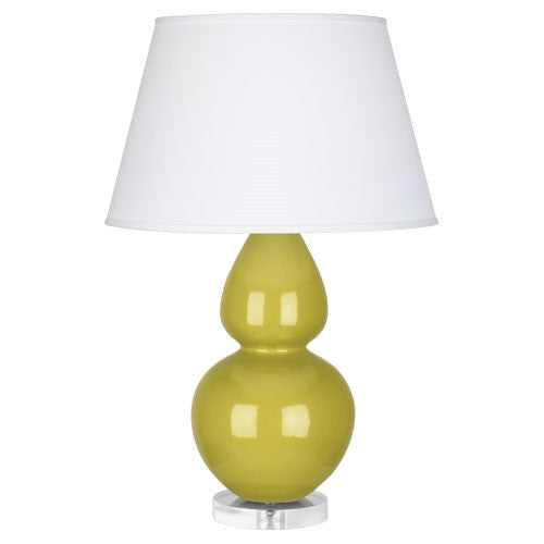 "Celadon Double Gourd 31"" Lamp - GDH 