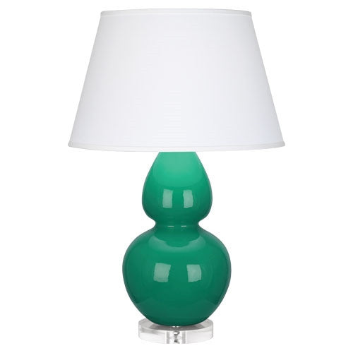 "Emerald Double Gourd 31"" Lamp - GDH 