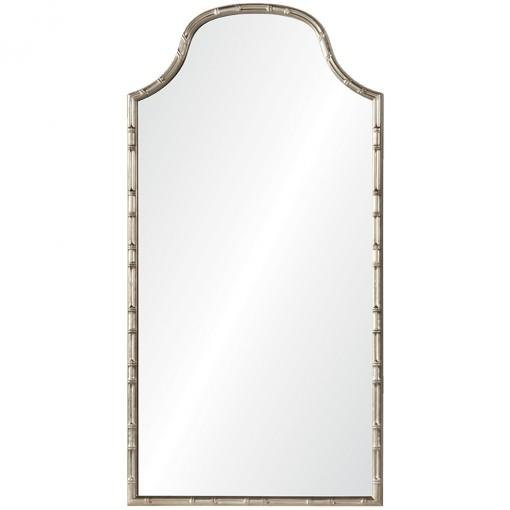 Aged Silver Leaf Mirror by Celerie Kemble