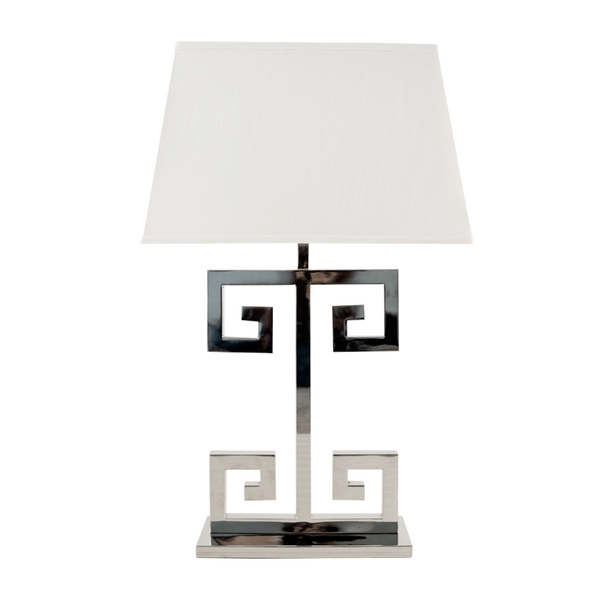 Clayton Lamp |  Nickel - GDH | The decorators department Store