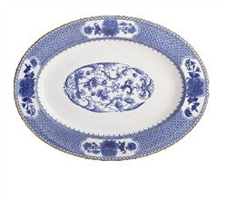 Mottahedeh Imperial Blue Platter - GDH | The decorators department Store