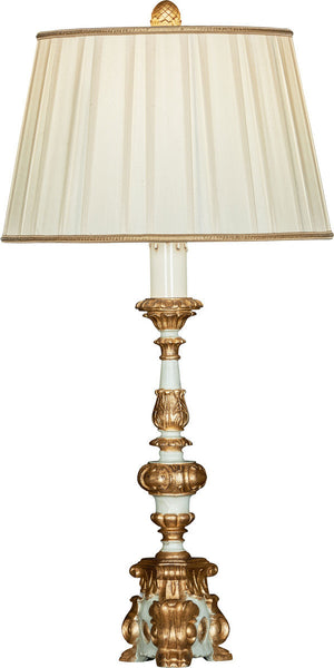 Arielle Bleu Couture Table Lamp