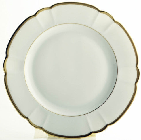Colette Gold Dinner Plate by R Haviland and C Parlon - GORE DEAN HOME