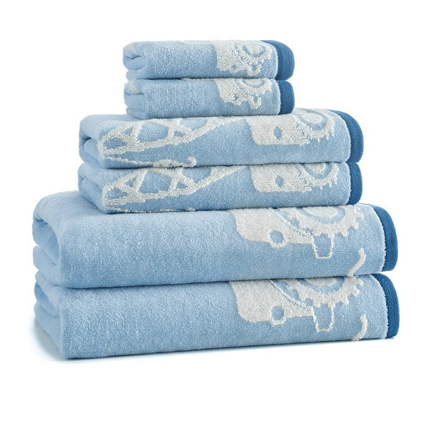 Construction Bath Towel S/6