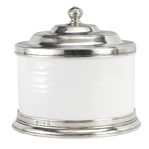 Match Pewter Convivio Cookie Jar - GDH | The decorators department Store
