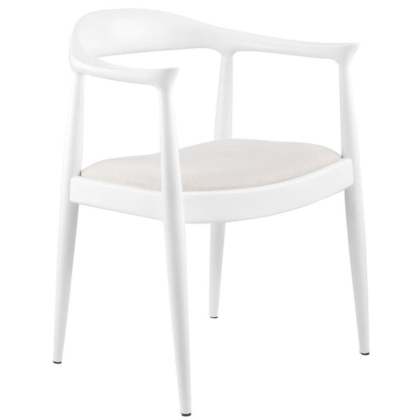 Bungalow 5 Danish Armchair | White - GDH | The decorators department Store