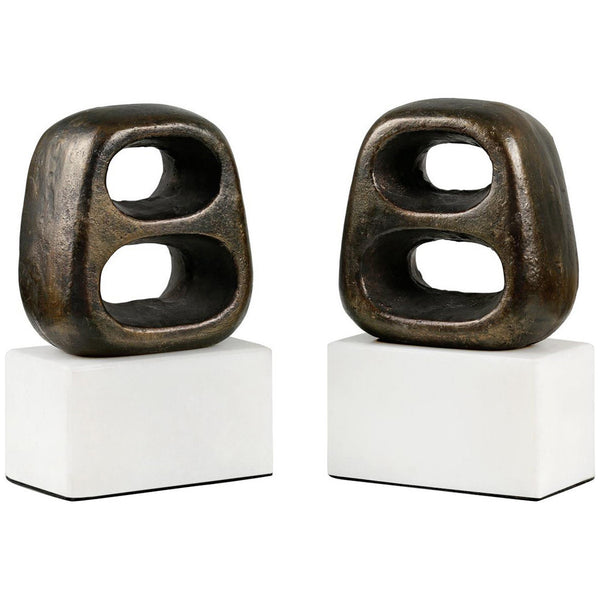 Delphi Bookends Set of 2 - GDH | The decorators department Store