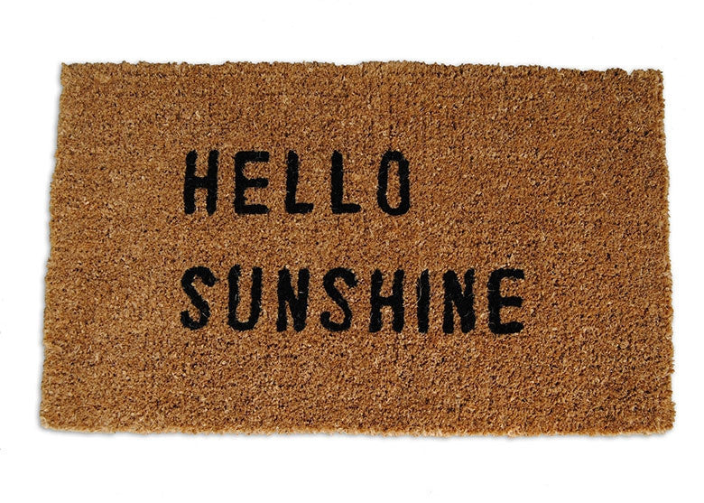 Hello Sunshine Doormat - GDH | The decorators department Store