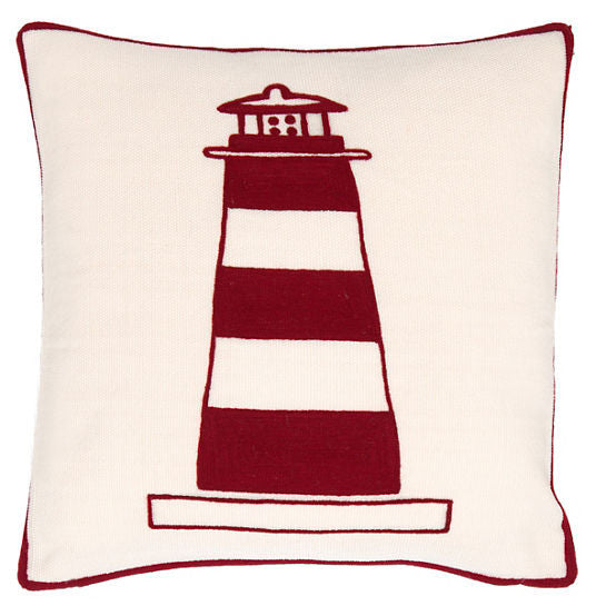 Fresh American Lighthouse Indoor/Outdoor Pillow