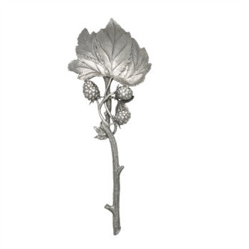 Pewter Blackberry Serving Spoon - GDH | The decorators department Store