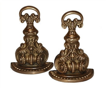 Antiqued Brass Bookends - GDH | The decorators department Store