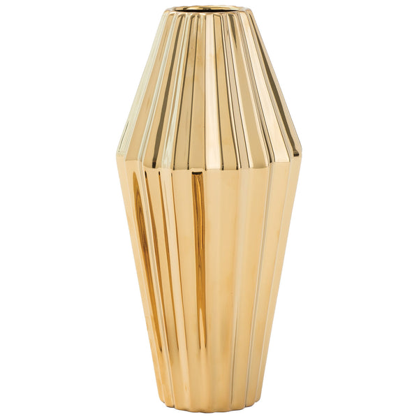 DwellStudio Milos Gold Vase