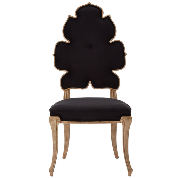 Julia Buckingham Wiggle Black Dining Chair