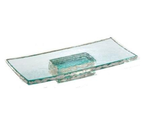 Annieglass Pedestal Slab - GDH | The decorators department Store