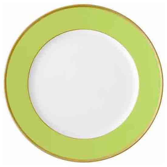 Arc en Ciel Presentation Plate | Almond Green - GDH | The decorators department Store