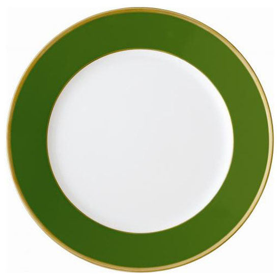 Arc en Ciel Presentation Plate | Empire Green - GDH | The decorators department Store
